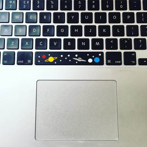 Your space bar is boring. But it won't be when it's a LITERAL SPACE BAR.