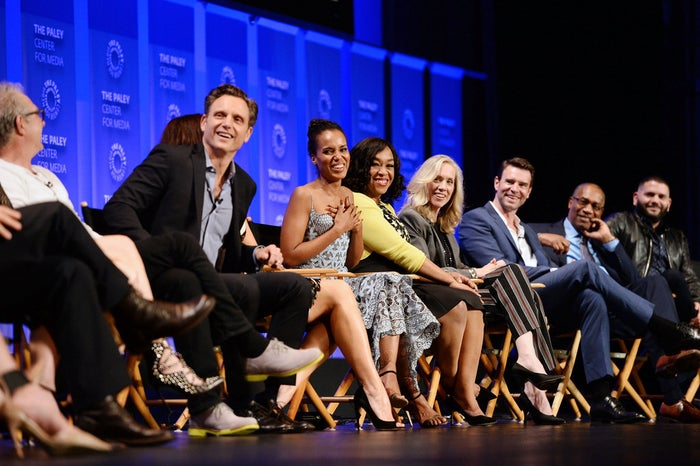 """The audience was treated to an early screening of this week's episode, """"I See You,"""" followed by a panel discussion, moderated by Good Morning America's Lara Spencer and then an audience Q&A."""