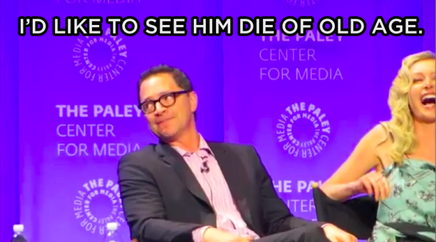 When asked to guess the ultimate fate of his character, David Rosen, actor Josh Malina gave everyone a good chuckle with his ~hopeful~ answer.