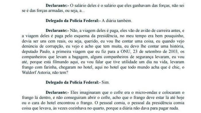 """Durante o depoimento que aconteceu no dia da condução coercitiva, Lula negou novamente ser dono do sítio em Atibaia ou do triplex no Guarujá (SP). Disse ainda que a investigação era para ele é uma """"sacanagem homérica""""."""