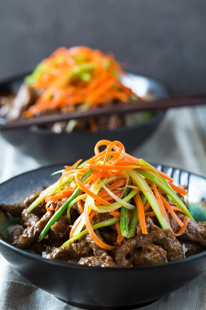 No need to get take out, you can make this Sichuan Beef recipe in a flash instead! Via Noshtastic