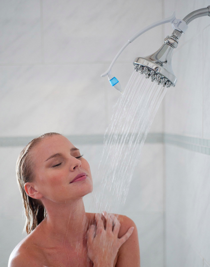 Haz de cada ducha sea una experiencia digna de un spa con un kit de ducha de aromaterapia.