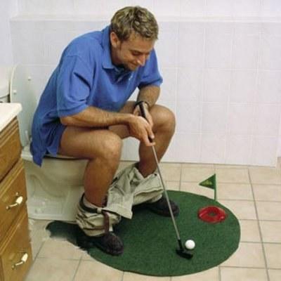 Usa tu tiempo a solas para mejorar tu técnica en el golf.