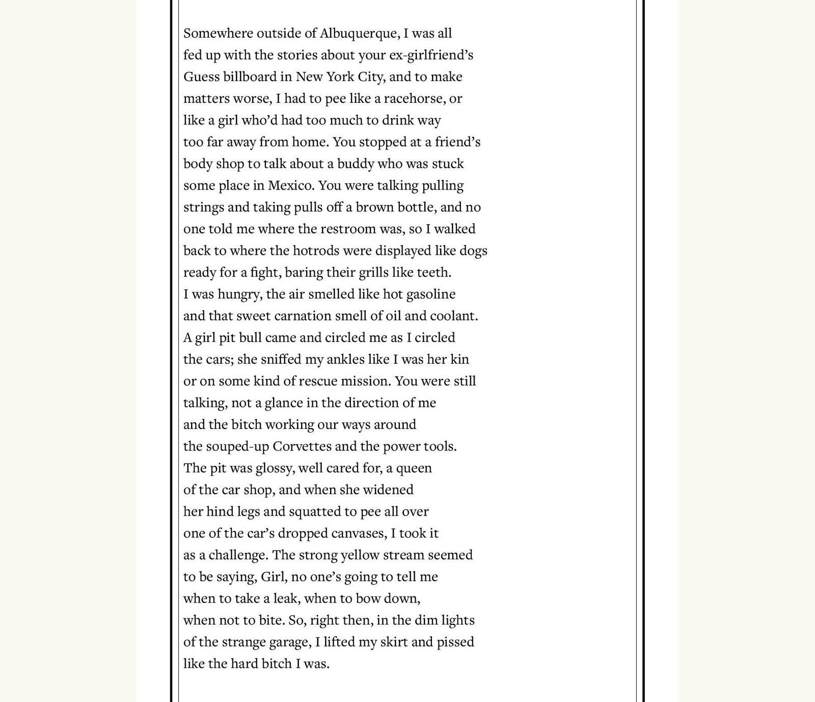 "Poem: ""Service"" By Ada Limón"