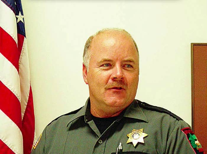 Grant County Sheriff Glenn Palmer.