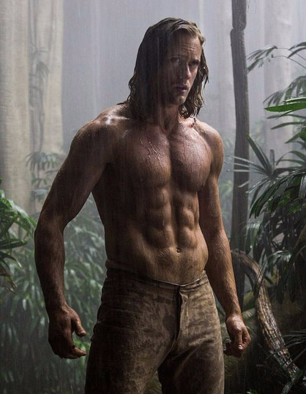 We've already been treated to the first The Legend of Tarzan trailer, featuring a lot of Alexander Skarsgård and his insane Tarzan yell.