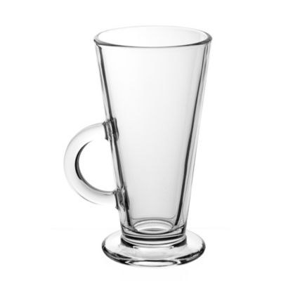Latte glasses that look like this: