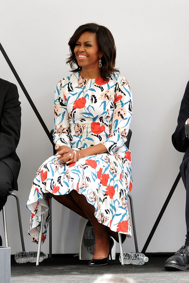 21 Times Michelle Obama Showed The World What Style Looks Like