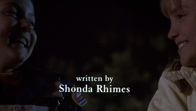 Ann Carli, the film's producer, recalled how she met a writer named Shonda Rhimes, who came to write the film's script.