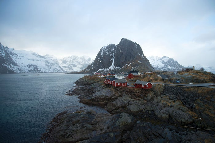 The fishing village of Hamnoy.
