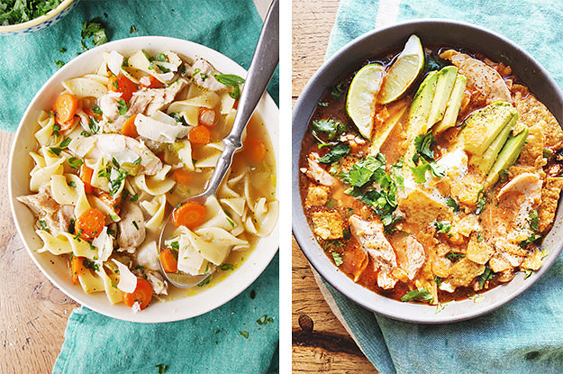 Chicken soup recipe with pictures