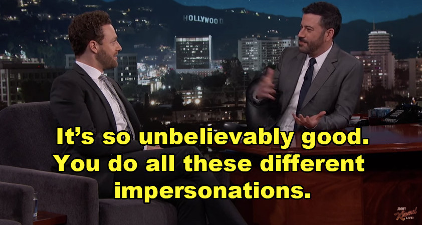 Buzzfeed celebrity impressions video