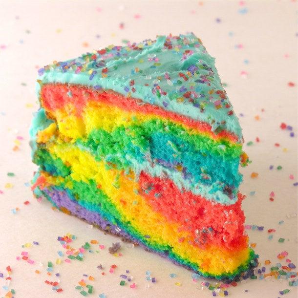 Prueba de que la torta es la encarnación de la felicidad. La receta aquí.