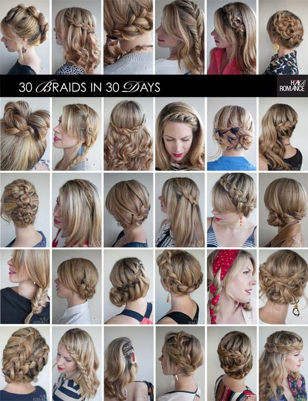 Какую можно сделать причёску в школу из средних волос