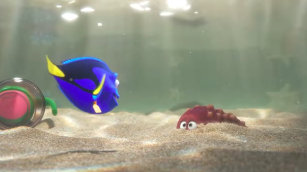 The trailer for finding dory is here and the film looks for Finding dory fish tank