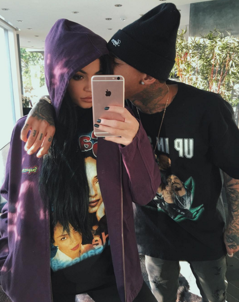 Blac used to be engaged to rapper Tyga, who is now dating Rob's younger sister Kylie.
