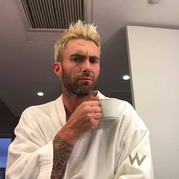 Adam Levine Ate Cake Alone In Bed On His Birthday - Adam levine birthday cake