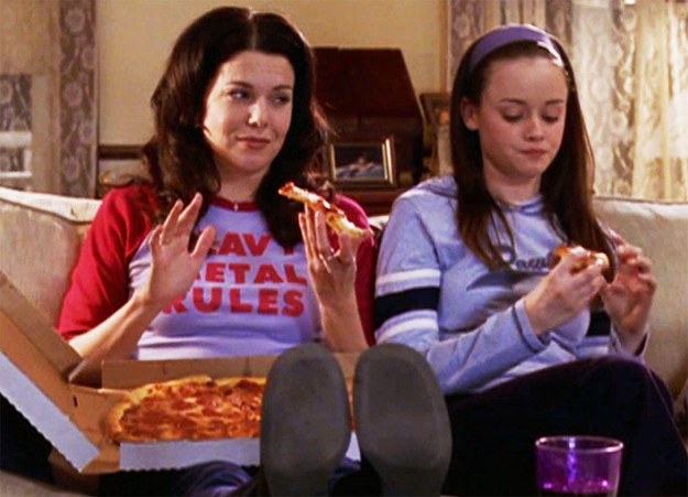 Anyone who knows and loves Gilmore Girls knows that food is *SO* important to the show.