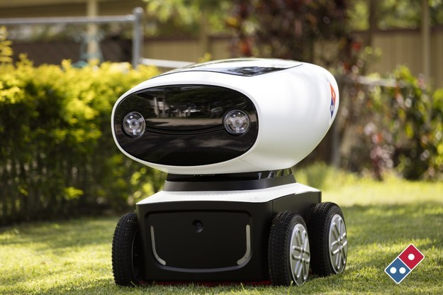 Domino's recently unveiled it's new project: DRU (Domino's Robotic Unit).