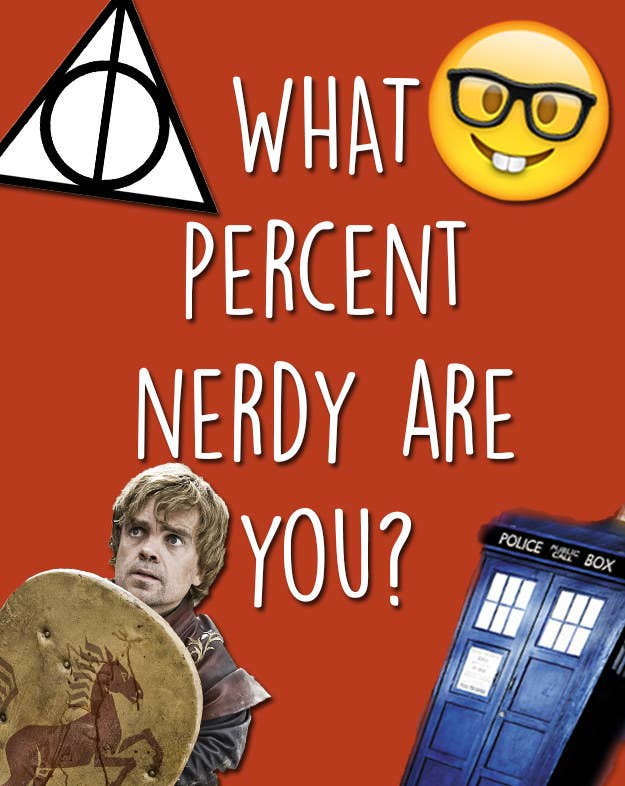 What Percent Nerdy Are You?