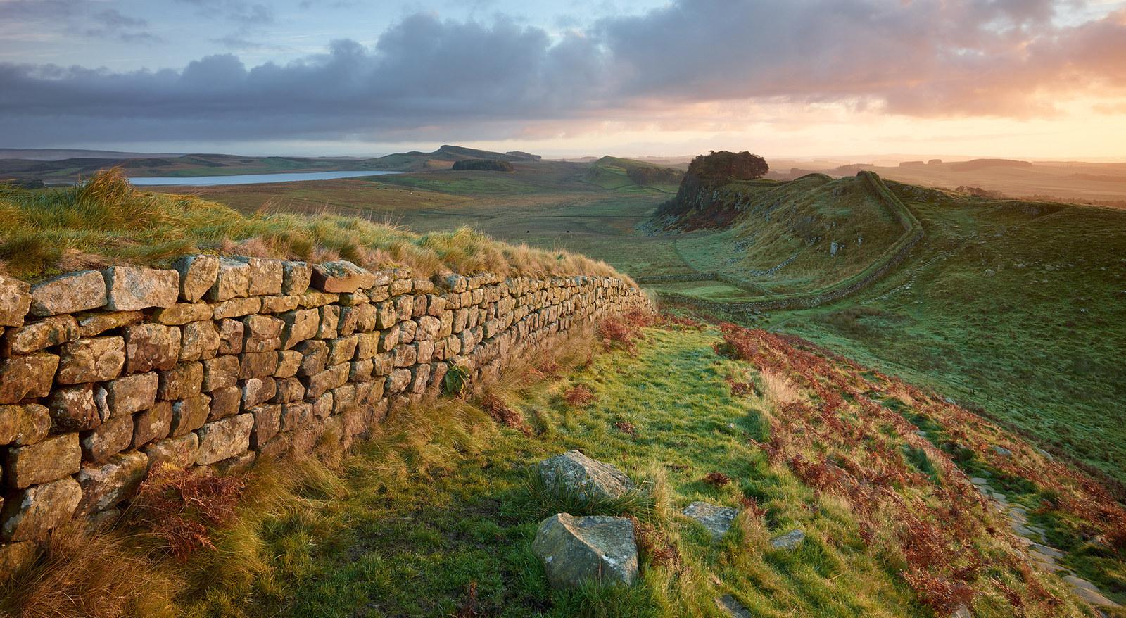 3. Hadrian's Wall, Northumberland.