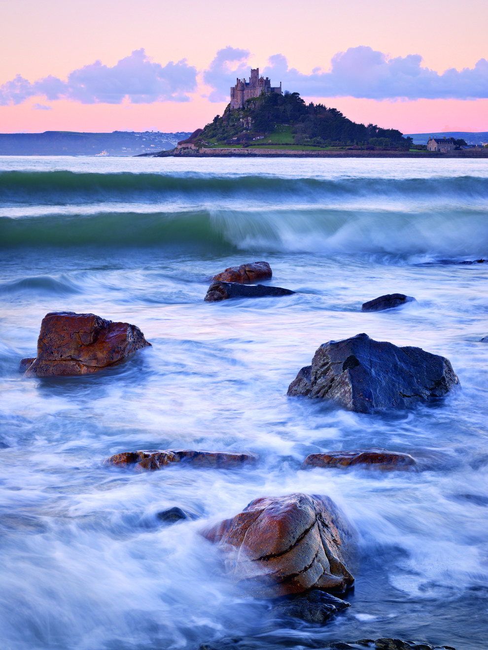 8. St Michael's Mount, Cornwall.