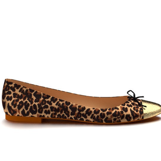 Leopard Print Ballet Flats, £139