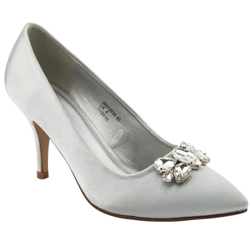 Emilio Luca X Sparkle Satina High Heels Court Shoes, £32.00