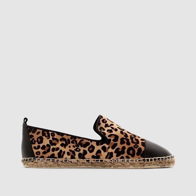 Trendy Leopard Espadrilles, £35.00