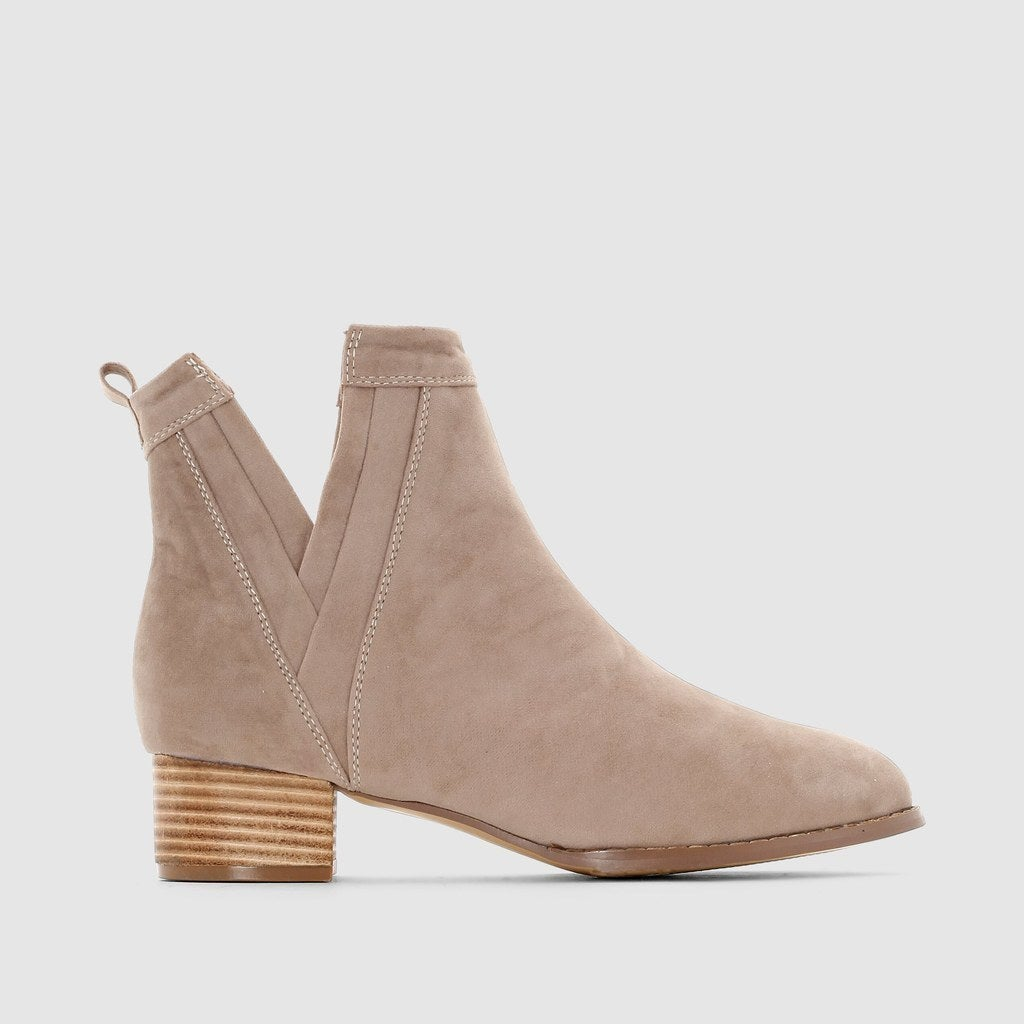 Suedette Ankle Boots, £45.00