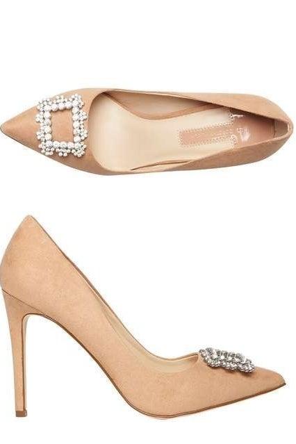 Blush Court Shoes, £35.00