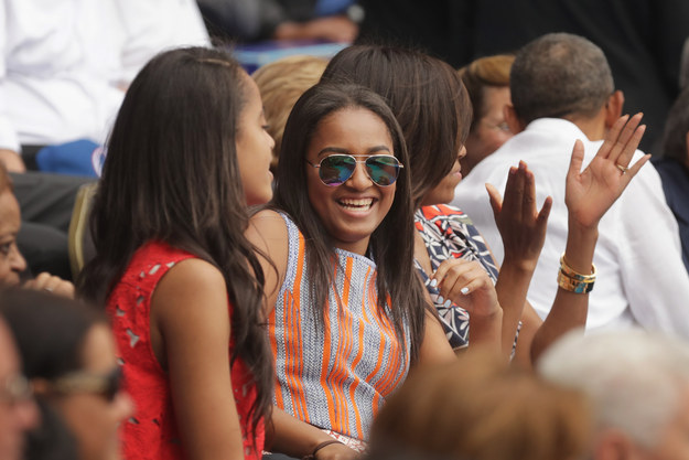 And now, the first daughters have shown they can handle both chic and casual with their on point outfits for their trip to Cuba.