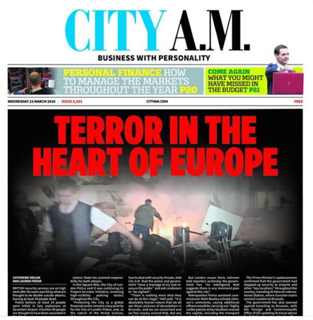 1. City A.M. (U.K.)
