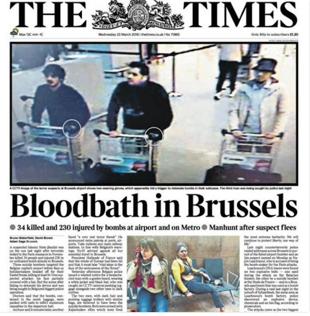 2. The Times of London (U.K.)