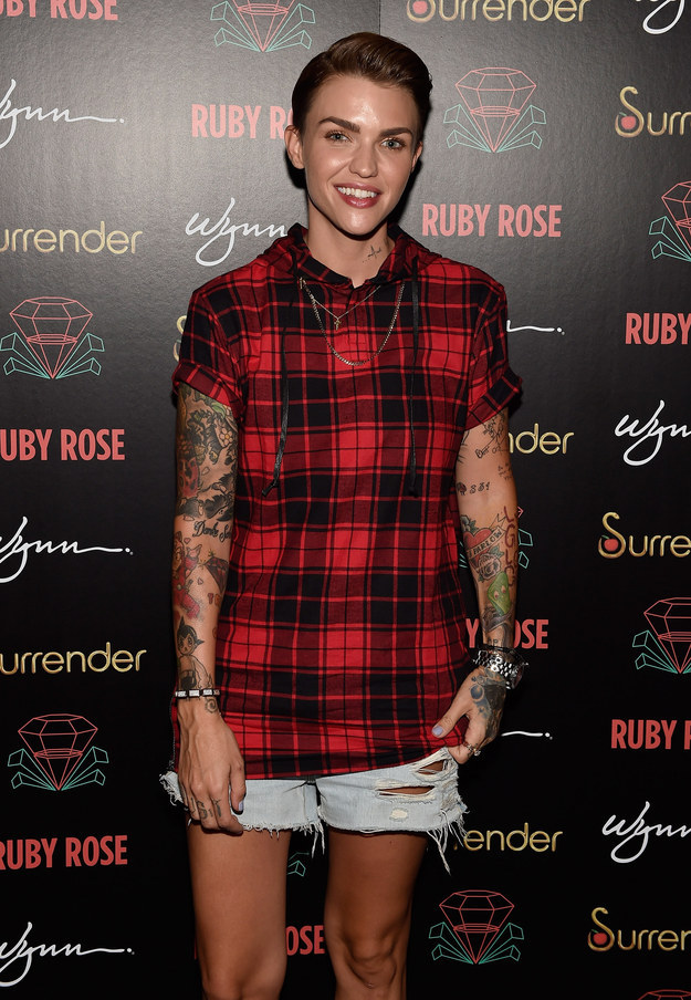 Ruby Rose Thinks Jaden Smith Is A Role Model For His ...
