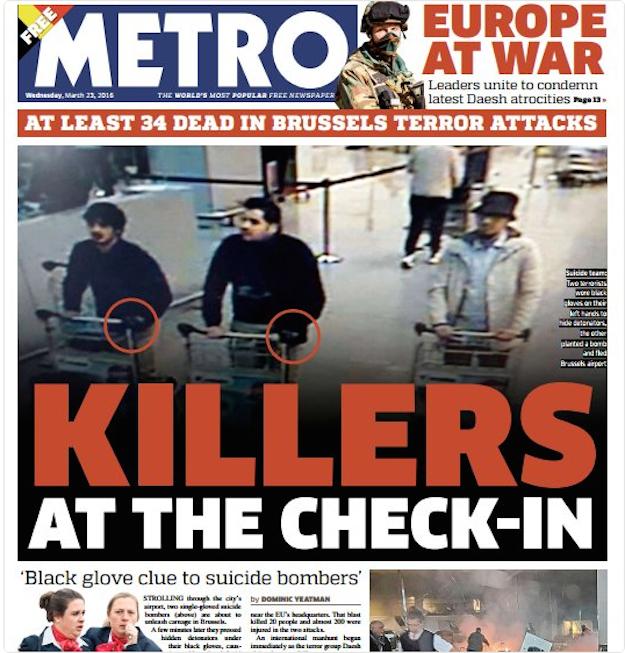 3. Metro (U.K.)