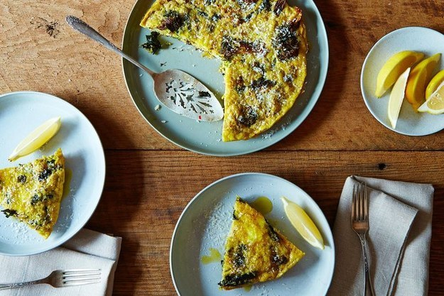 Slow-Baked Broccoli Frittata