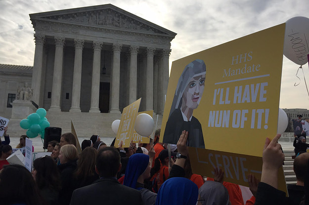 Eight-Justice Court Grapples With Balancing Religious Beliefs, Contraception Coverage