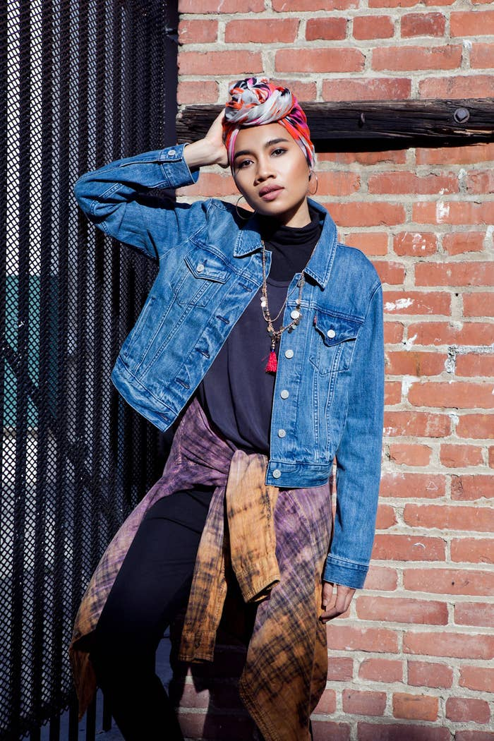 7e47a44b6c6 We Asked 17 People To Style A Denim Jacket And The Results Are Badass