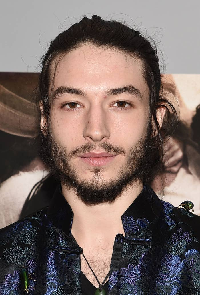 Ezra Miller Has Bulked Up And Its Too Much To Handle