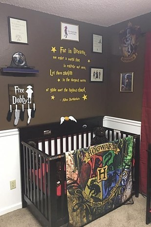 Este quarto de bebê com tema do Harry Potter é simplesmente incrível! 22
