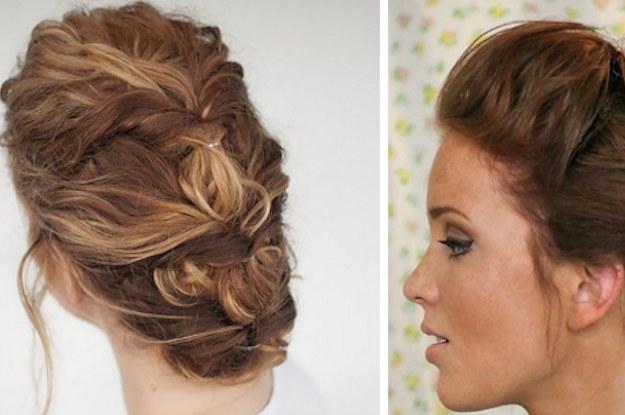 14 Peinados Geniales Que Te Puedes Hacer Sin Tener Que