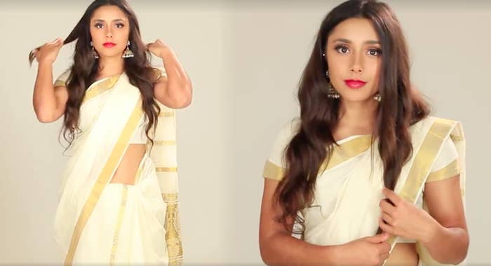 This Is What 8 Types Of Sarees Look Like On One Woman