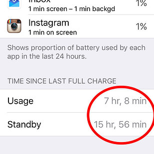 how to stop cell standby draining battery