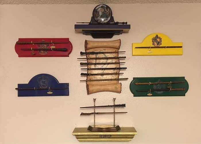 Diy harry potter wand display diy design ideas for Elder wand display