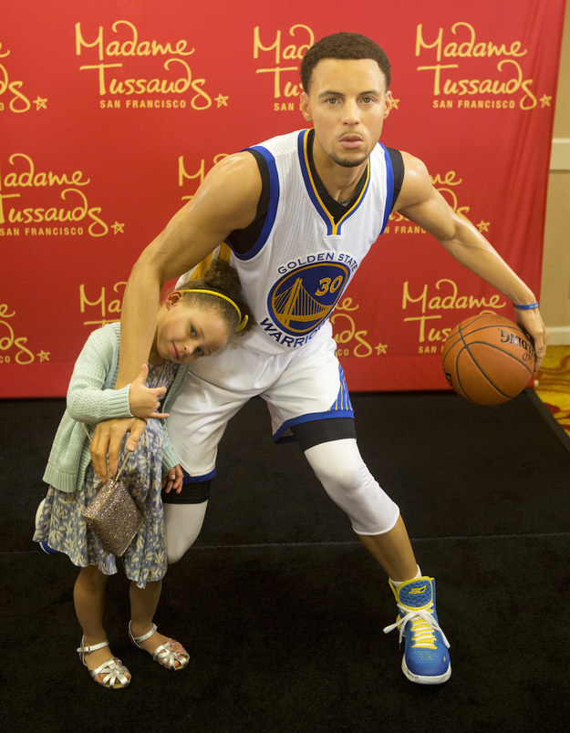 steph curry faceswapped with his wax figure and it u0026 39 s low