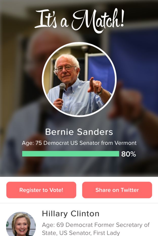 Starting this week, Tinder is running a political experiment.
