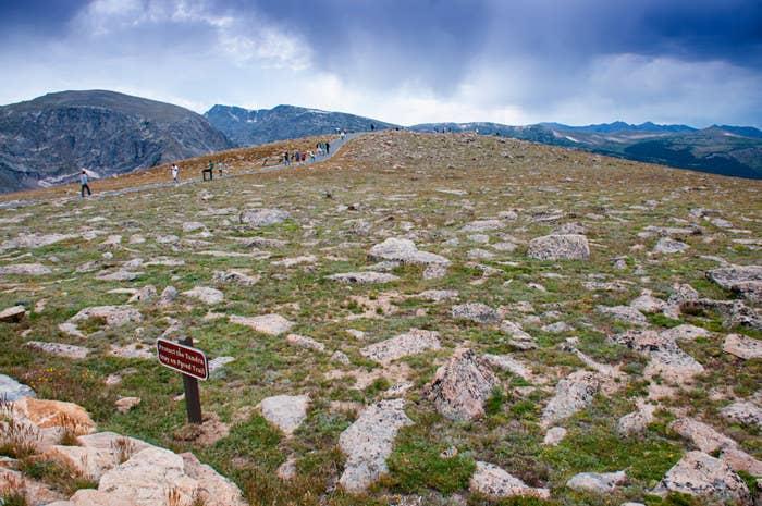 Rocky Mountain National Park Colorado saw 4,155,916 visitors.
