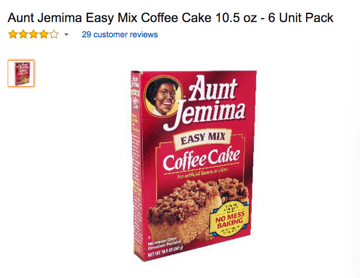 I Want To Help Kylie Jenner Bring Aunt Jemima Coffee Cake Back