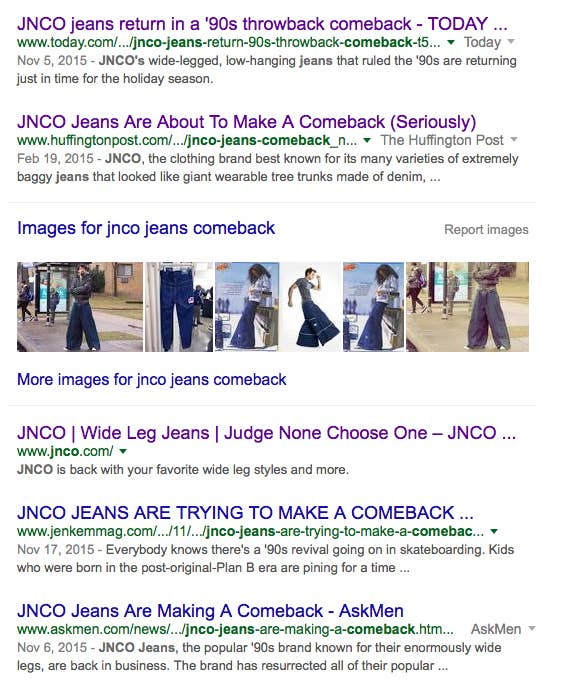 60b535c93fb Here s What Happens When You Wear Giant JNCO Jeans In 2016